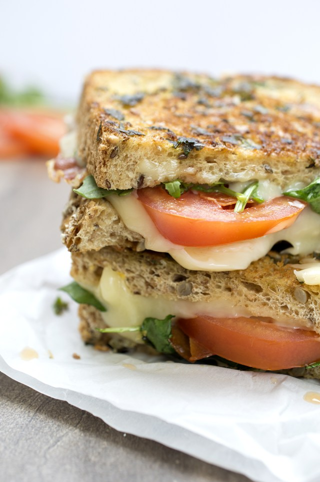 How To Make an Italian BLT Grilled Cheese recipe chefsavvy.com
