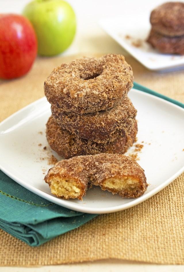 Apple Cider Doughnuts | chefsavvy.com