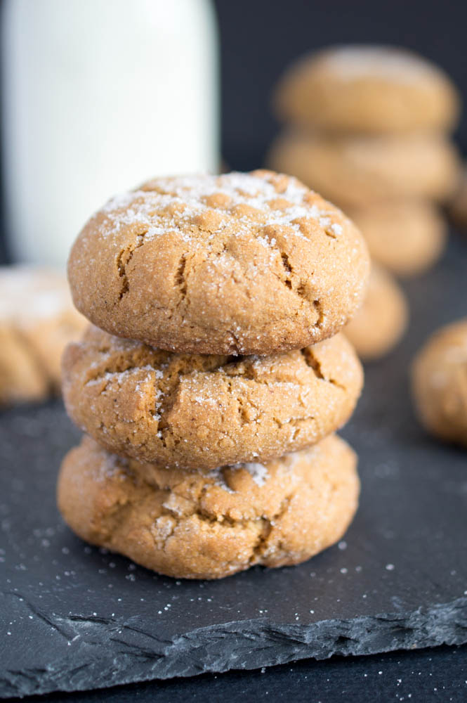 Chewy Ginger Sugar Cookies