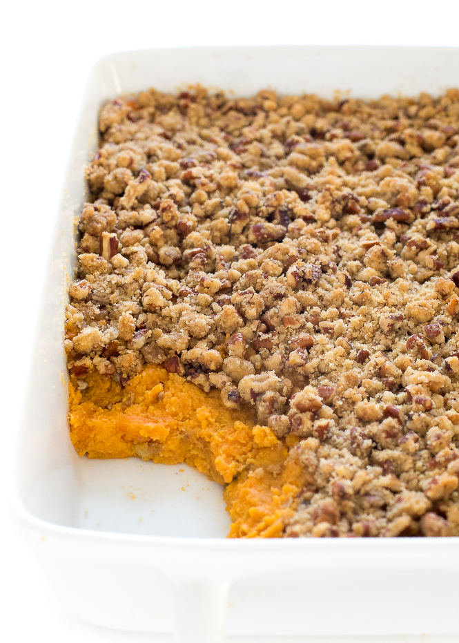 The BEST Sweet Potato Casserole | chefsavvy.com
