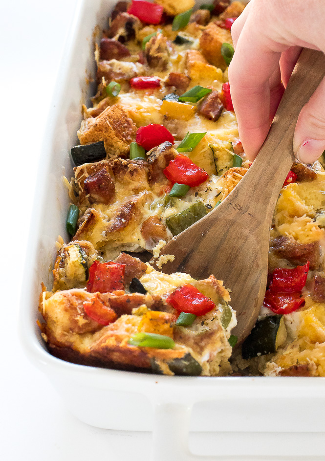 Breakfast Egg Bake | chefsavvy.com