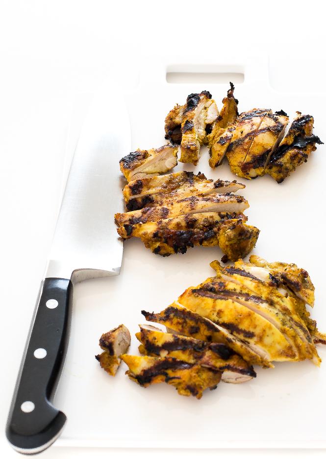 Grilled Biryani Chicken | chefsavvy.com