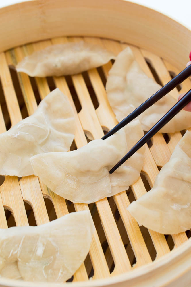 Asian Chicken Dumplings | chefsavvy.com