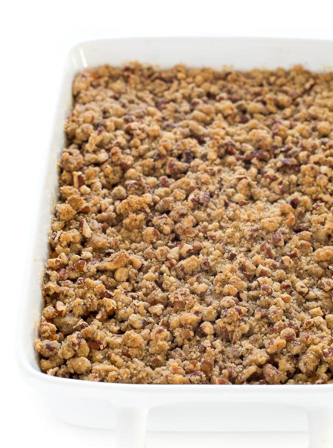 Sweet Potato Casserole | chefsavvy.com