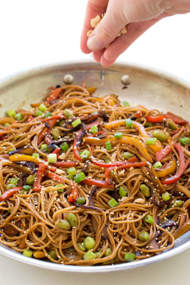Easy Noodle Stir-Fry | chefsavvy.com