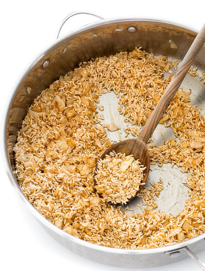 Sauteed Rice | chefsavvy.com