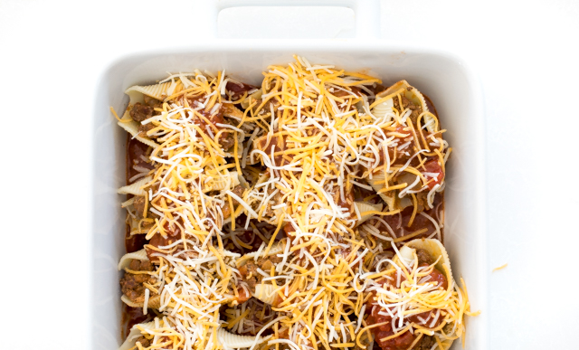 How To Make Taco Stuffed Shells Pasta   chefsavvy.com