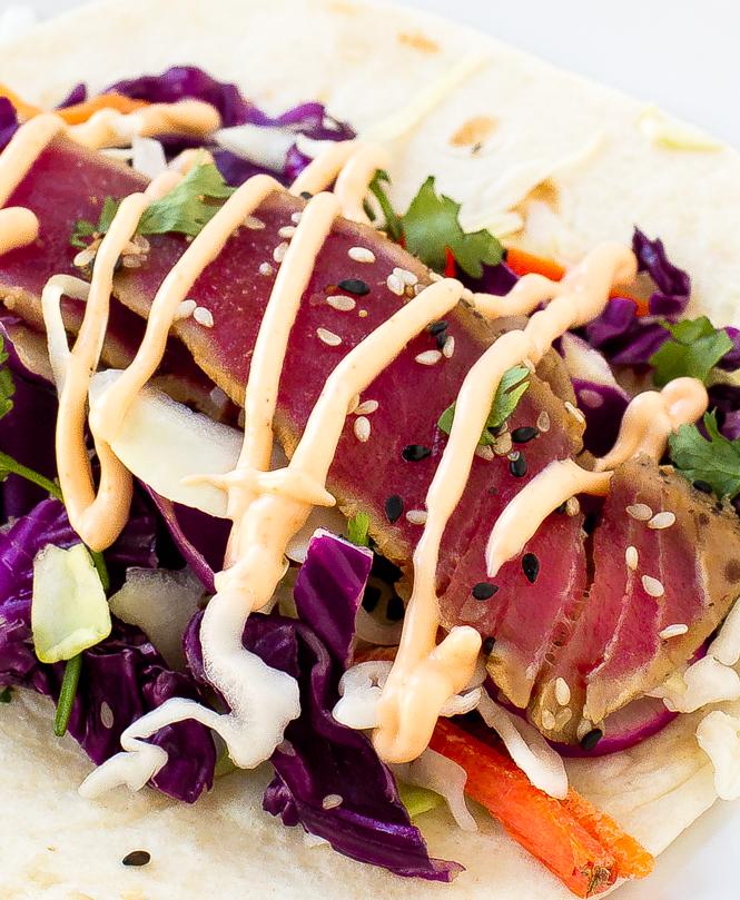 Ahi Tuna Tacos | chefsavvy.com