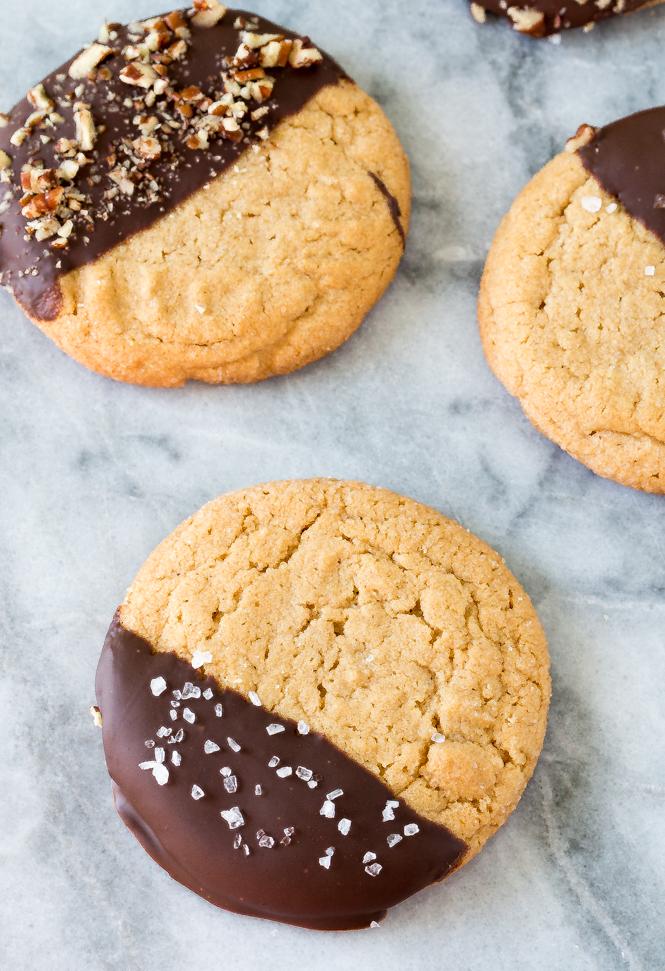 Chocolate Peanut Butter Cookies | chefsavvy.com