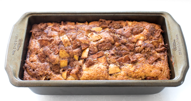 How To Make Apple Fritter Bread   chefsavvy.com