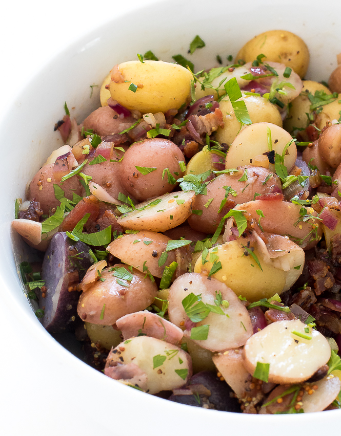Authentic German Potato Salad | chefsavvy.com
