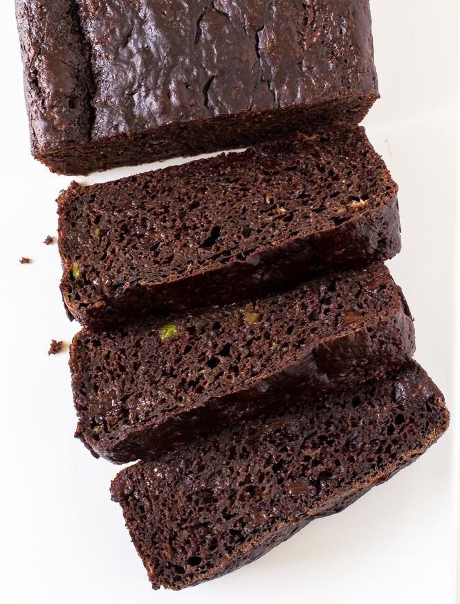 Double Chocolate Zucchini Bread | chefsavvy.com
