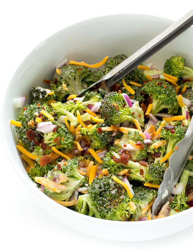 The BEST Broccoli Salad | chefsavvy.com