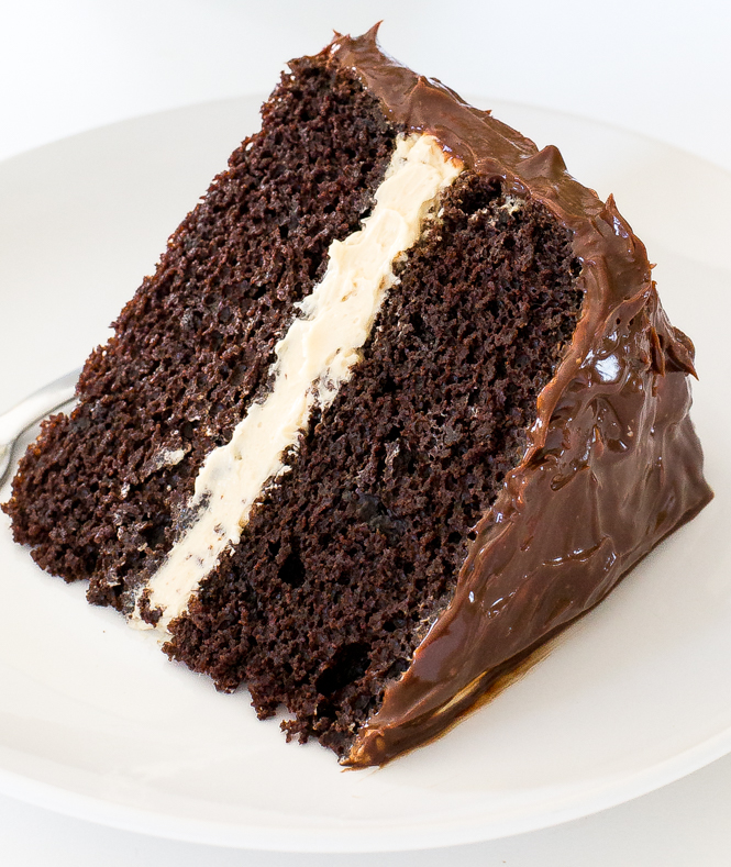 Chocolate Cake with Caramel | chefsavvy.com