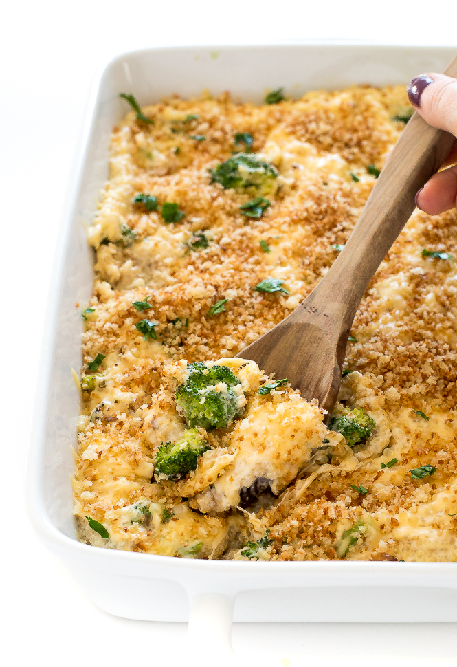Broccoli Quinoa Bake | chefsavvy.com