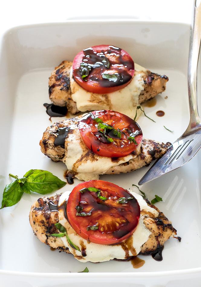 Chicken Caprese | chefsavvy.com
