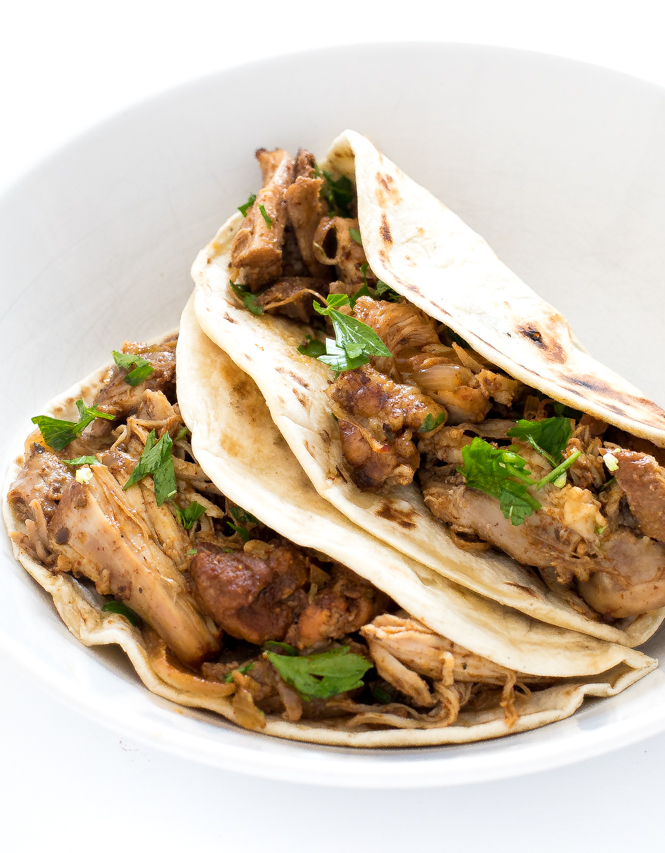 Chicken Carnitas | chefsavvy.com