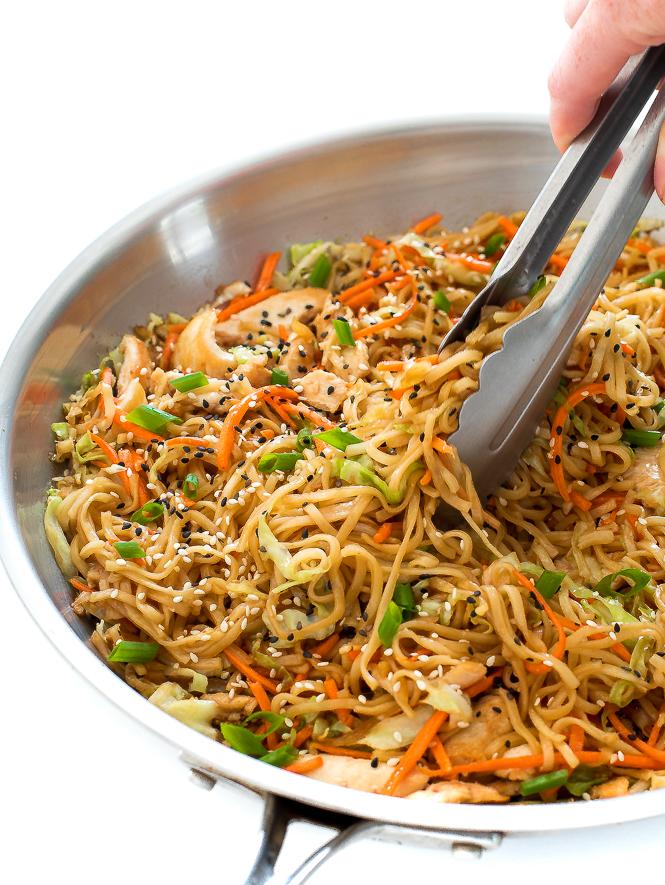 Chicken Chow Mein | chefsavvy.com