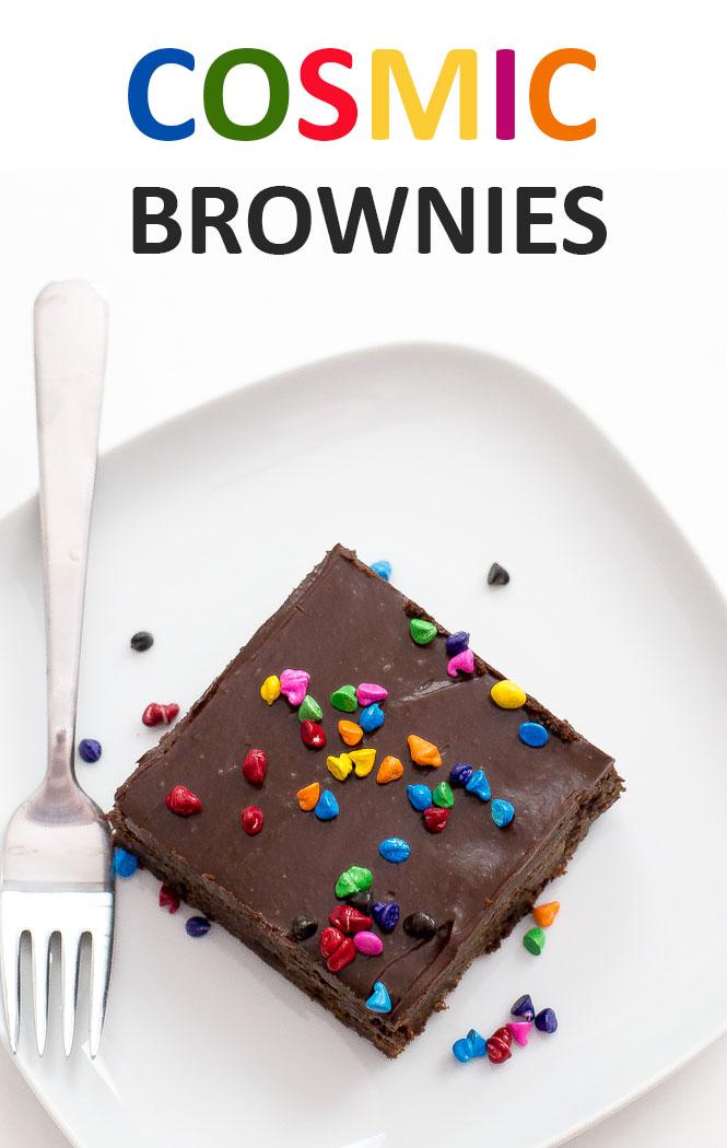 Copycat Cosmic Brownies | chefsavvy.com