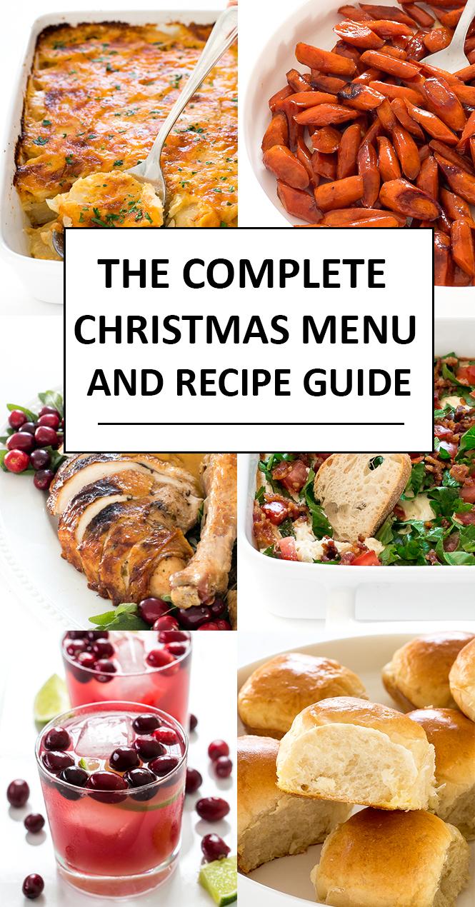 Christmas menu | chefsavvy.com