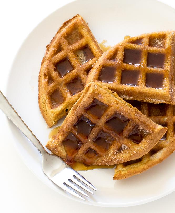 Churro Waffles | chefsavvy.com