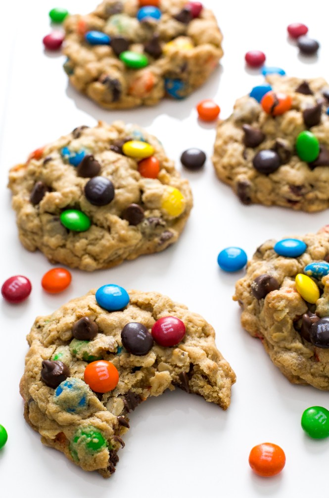 Monster M & M Cookies | chefsavvy.com