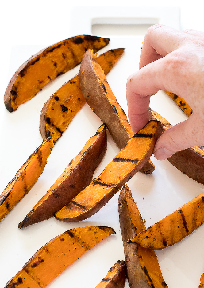 Grilled Sweet Potato Wedges | chefsavvy.com
