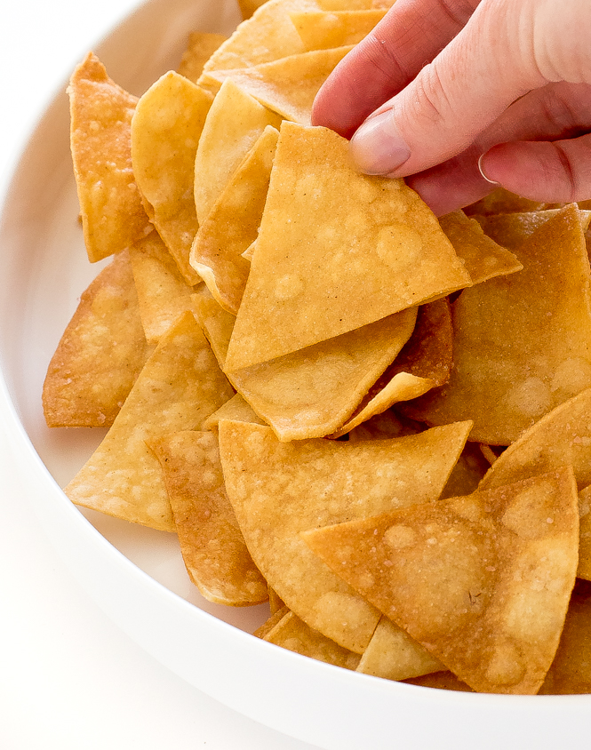 Tortilla chips from scratch | chefsavvy.com