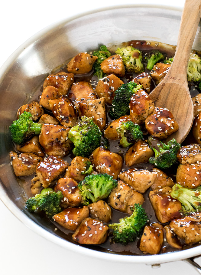 Easy Honey Chicken Stir Fry | chefsavvy.com