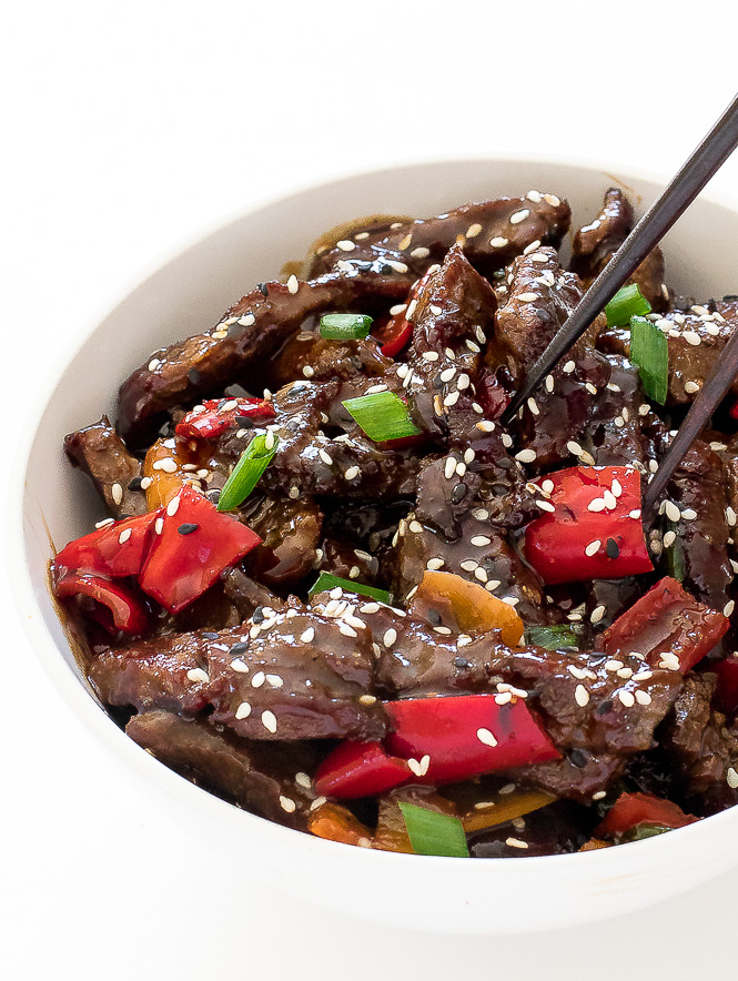 Pepper Steak | chefsavvy.com