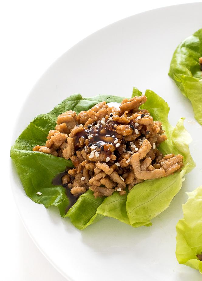 Pf changs lettuce wraps | chefsavvy.com