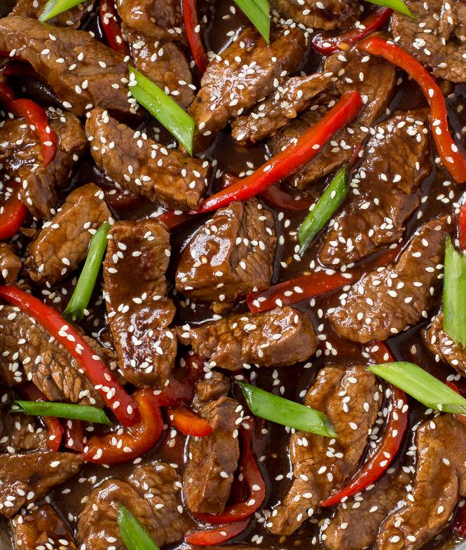 Sesame Beef Stir Fry | chefsavvy.com