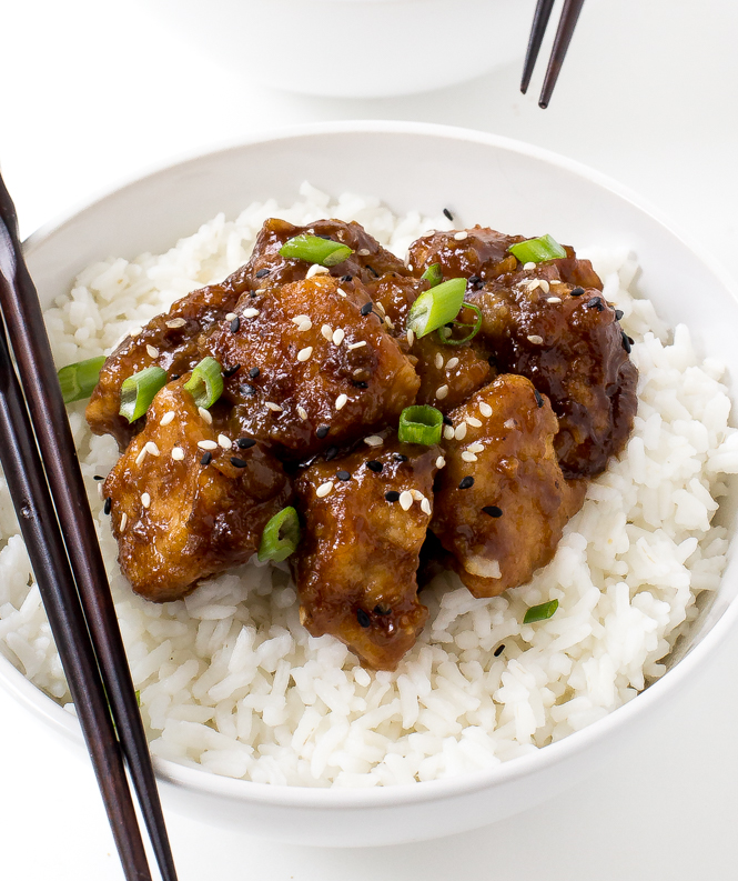 Slow Cooker General Tso's Chicken | chefsavvy.com