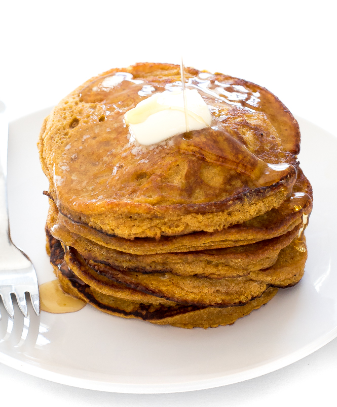Light and Fluffy Pancakes | chefsavvy.com