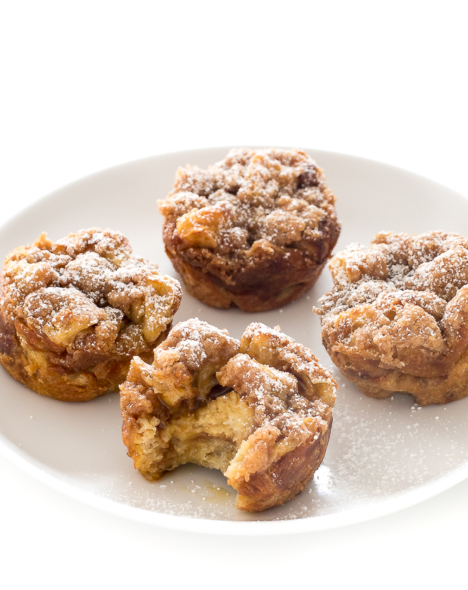 Make Ahead French Toast Muffin Cups | chefsavvy.com