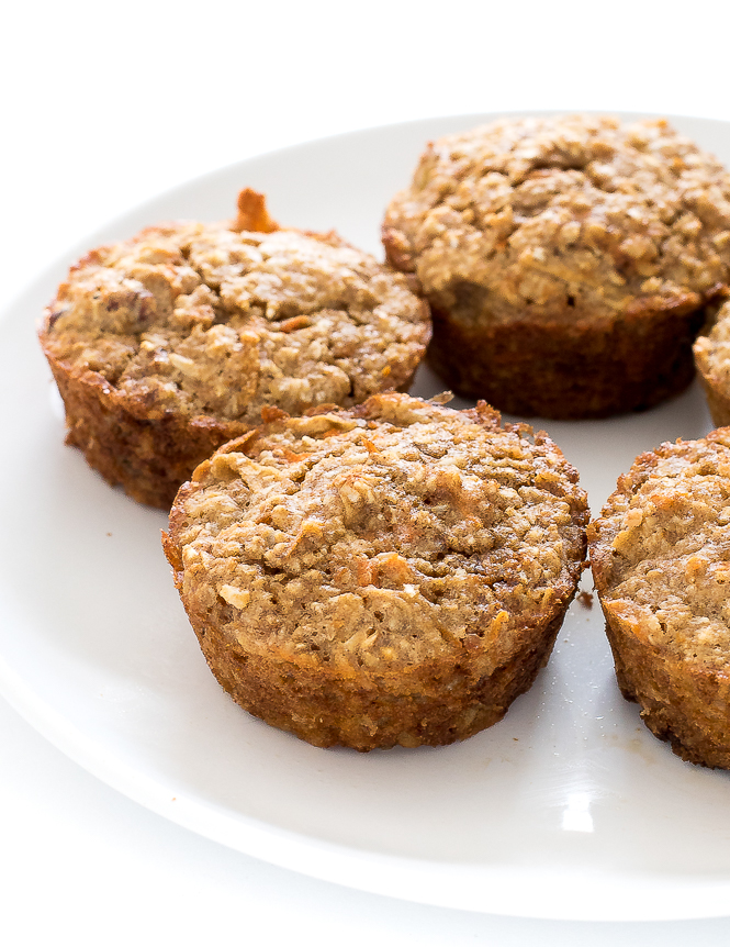 Healthy Flourless Morning Glory Muffins | chefsavvy.com