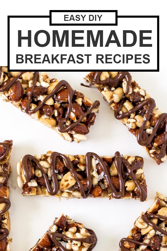 DIY Breakfast Recipes | chefsavvy.com