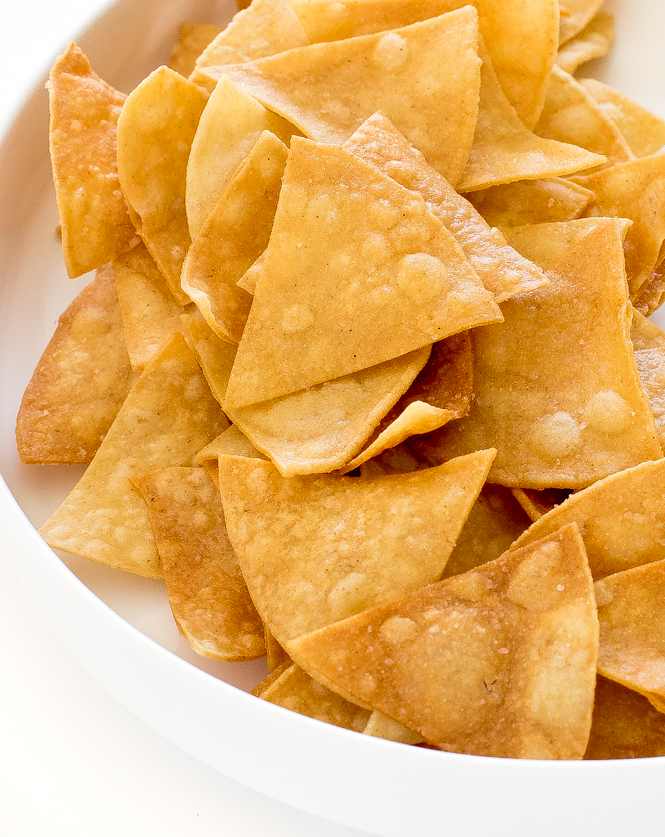 Homemade Tortilla Chips | chefsavvy.com