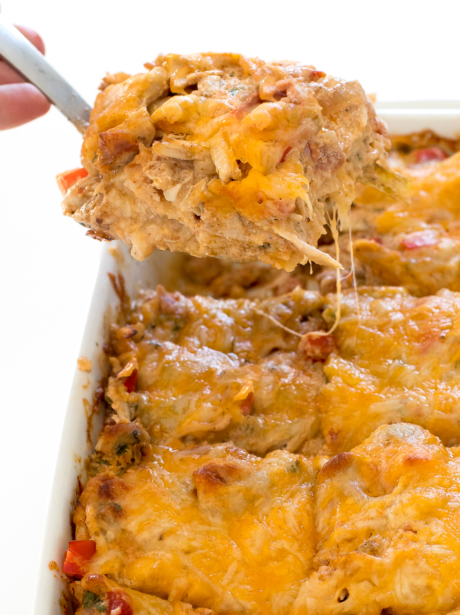 King Ranch Chicken Recipe | chefsavvy.com