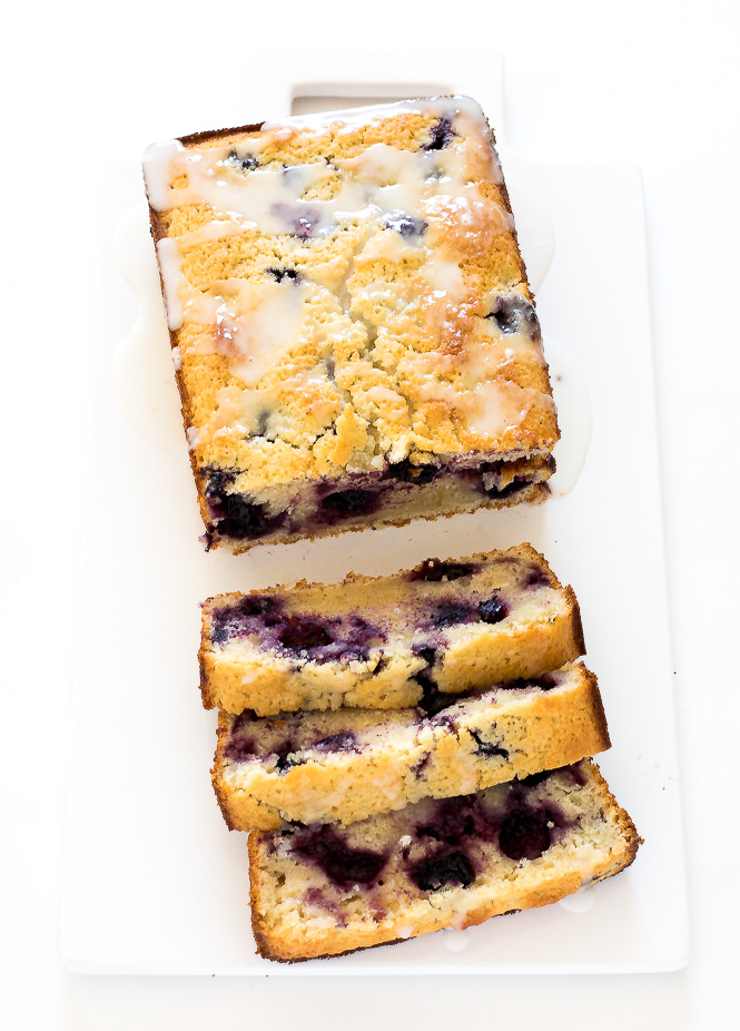 Best Lemon Blueberry Bread | chefsavvy.com