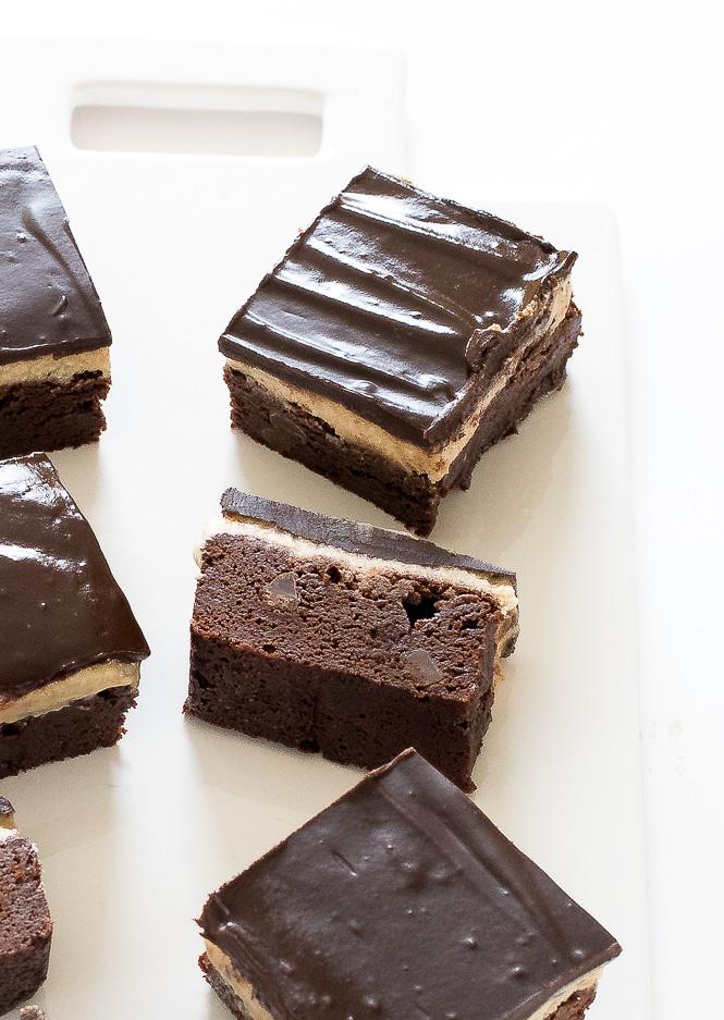 Mocha Cream Brownies