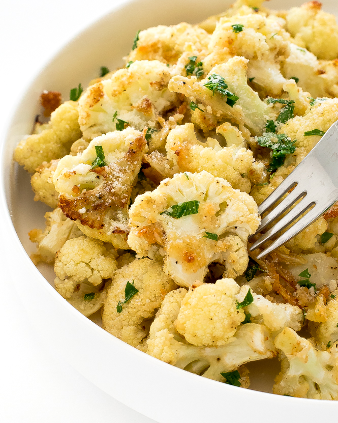 Roasted Cauliflower | chefsavvy.com