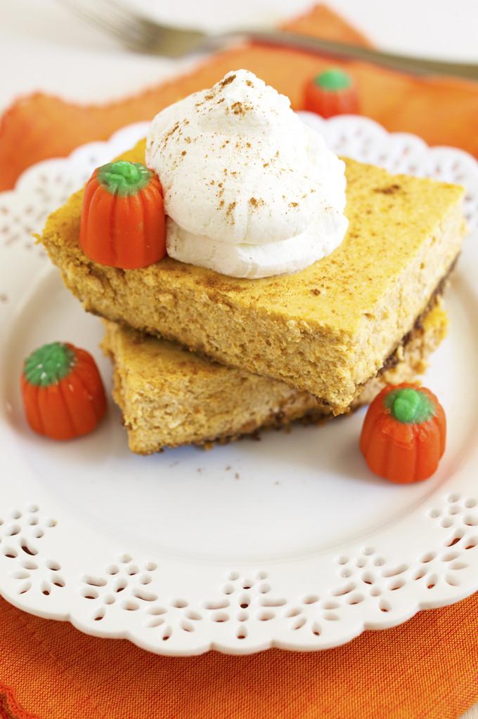 Pumpkin Cheesecake | chefsavvy.com