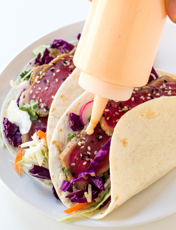 Tuna Tacos | chefsavvy.com