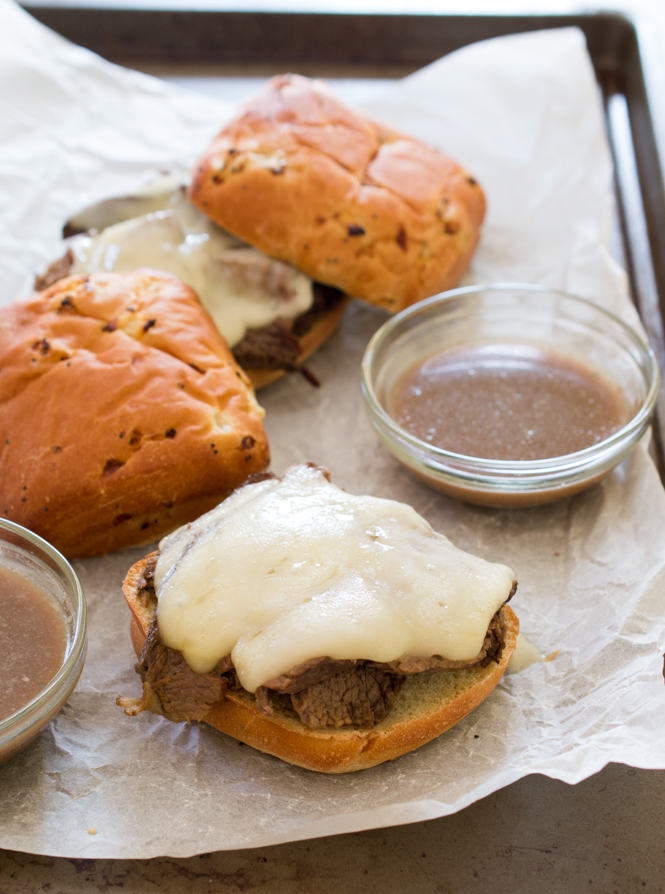 French Dip Sandwiches | chefsavvy.com