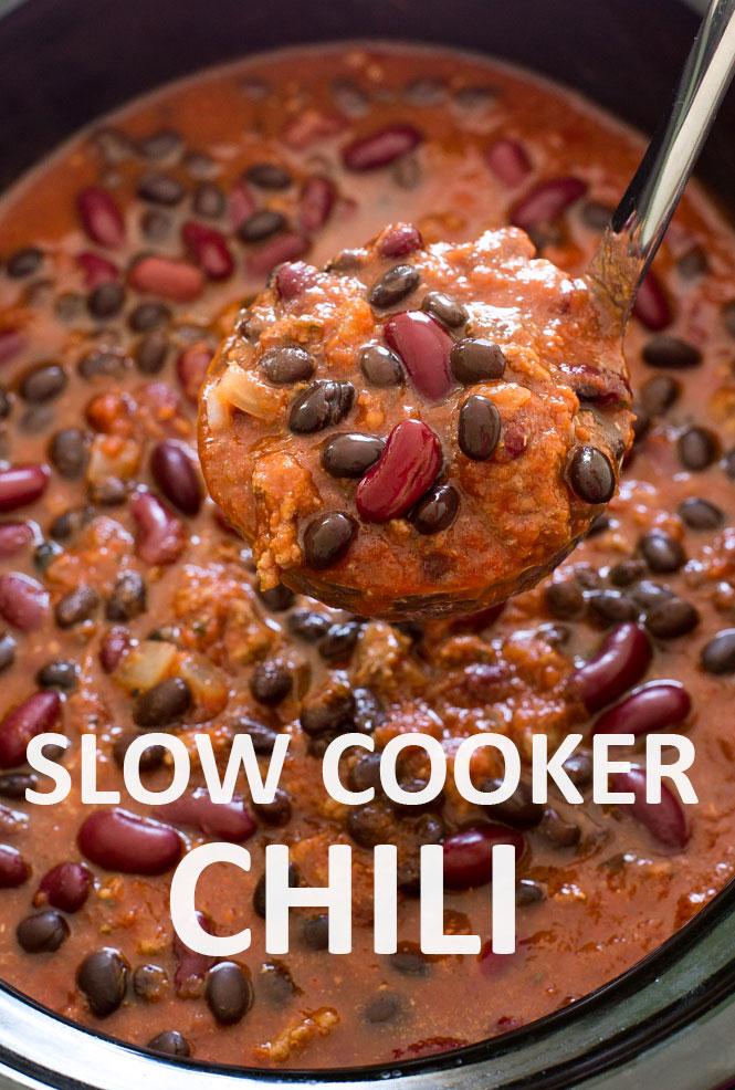 Crockpot Chili | chefsavvy.com