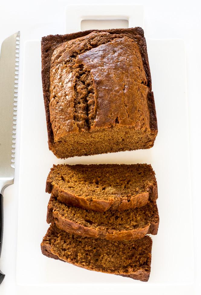 Starbucks Copycat Gingerbread Loaf | chefsavvy.com