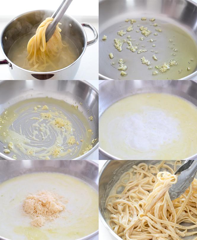 How to make fettuccine Alfredo   chefsavvy.com