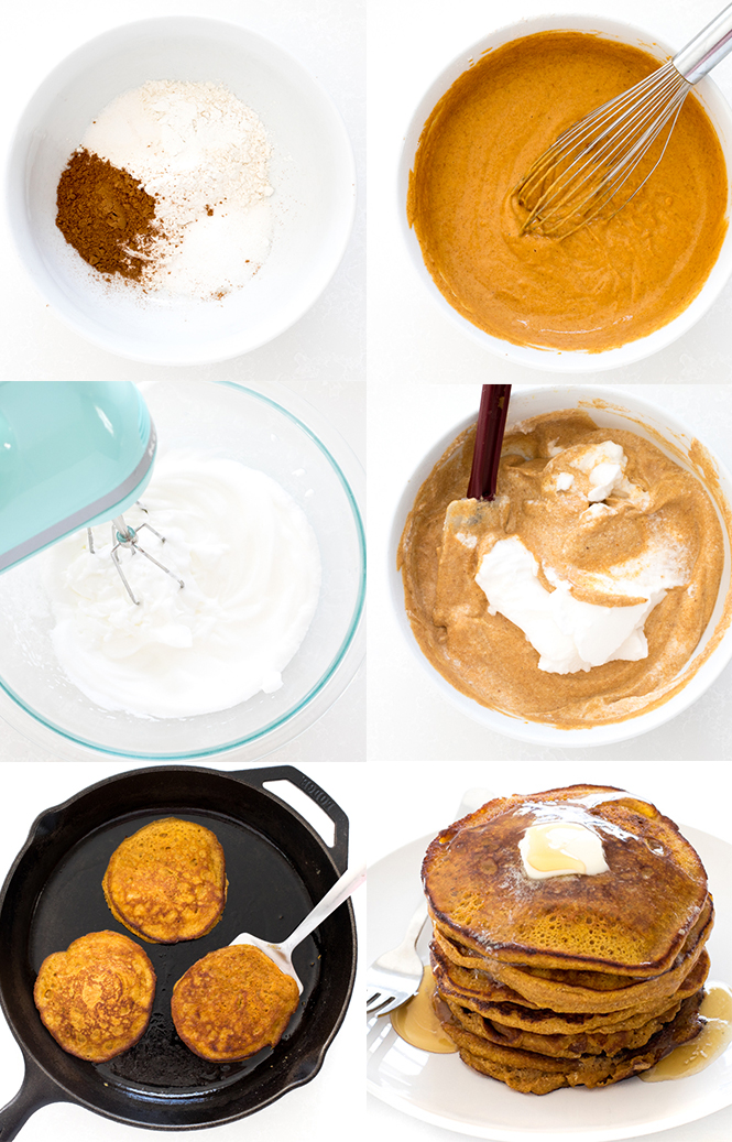 How to make the best pumpkin pancakes | chefsavvy.com