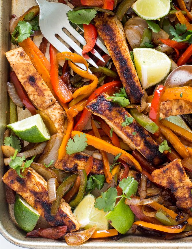 how to make chicken fajitas recipe